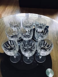 Crystal wine glasses  Toronto, M9A