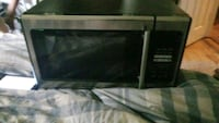 black and gray microwave oven Winston, 30187