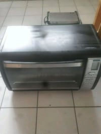 black and gray toaster oven Pointe-Claire, H9R 4A6