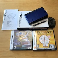 Nintendo DS Lite + games Richmond Hill, L4B 4L7