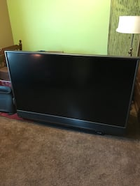 Black 1080P 65 inch DLP TV