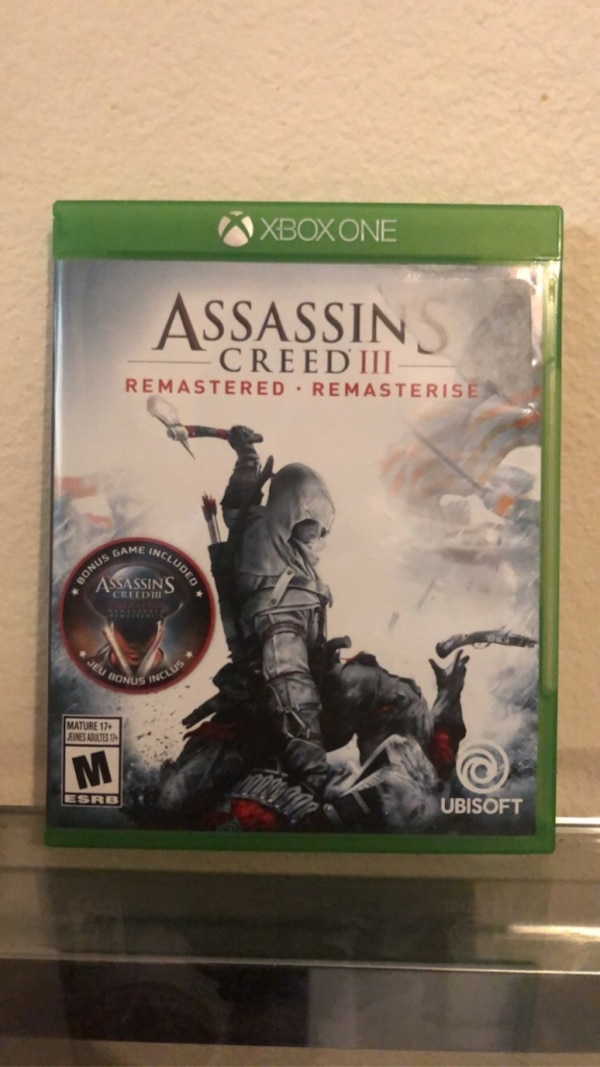 Used Assassins Creed 3 Remastered Brand New But Opened For Sale