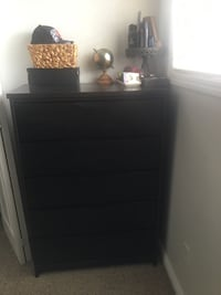 5 drawer chest solid wood Calgary, T2A