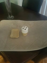 Bath mat. Toothbrush holder and soap dish Mississauga, L5L 5S1