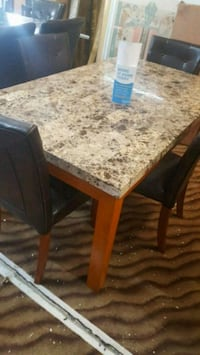 5 pc dining set marble  Windermere, 34786