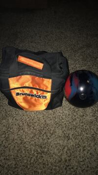 Bowling ball and bag for $35 Las Vegas, 89121