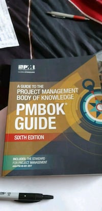 Brand new PMBOK GUIDE latest sixth addition ( pick up in Airdrie) Airdrie