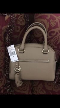 white Michael Kors leather tote bag Fairfax, 22032