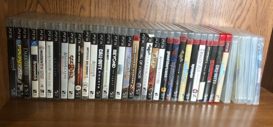 Ps3 video games 0