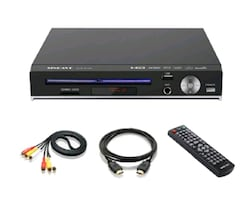 DVD Player, Full HD, SD Card Reader, Karaoke Mic Port NEW ½ PRICE