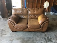 Leather sofa Morton Grove, 60053