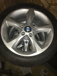 Gray bmw 5-spoke wheel with tire PRICE REDUCED!!!! Edmonton, T6B 2X9
