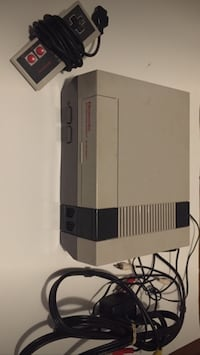 Nes console with controller