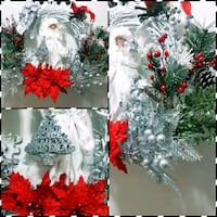 "18"" Christmas Wreath with an Angel Toronto"