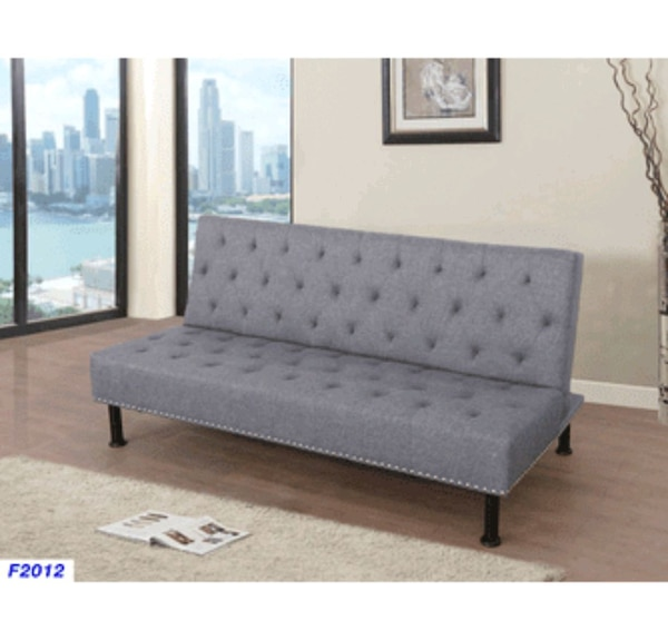 Prime Grey Tufted Futon Sofa Bed New Gamerscity Chair Design For Home Gamerscityorg