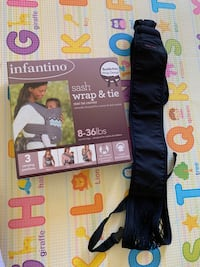 Baby carrier and sling