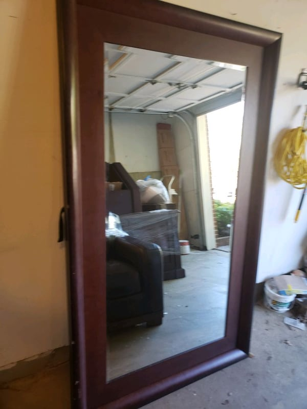 Large Framed Mirror 2