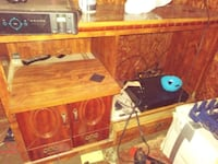 brown wooden entertainment center North Little Rock, 72117