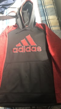 black and red Adidas pullover hoodie Fall River, B2T 1P5