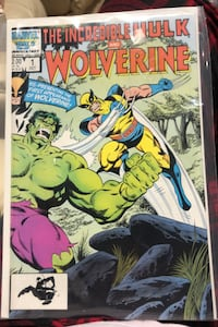 The Incredible Hulk and Wolverine. marvel comic Côte-Saint-Luc, H4W 2V9