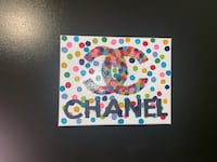 chanel rainbow painting on canvas  Hendersonville, 37075