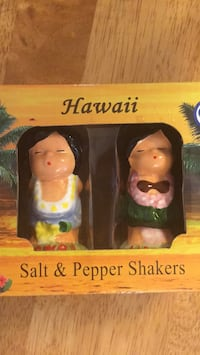 vintage Salt and Pepper Shakers from Hawaii  Silver Spring, 20905
