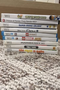 Nintendo Wii, Wii U and Switch video games - 20- 40 dollars each