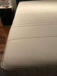 IKEA Memory foam mattress, firm, white, Queen (MYRBACKA) TORONTO