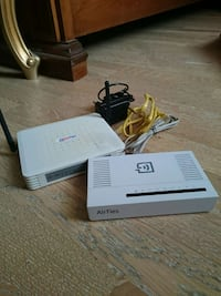 Airties RT-205 Modem ve Switchle Beraber Istanbul