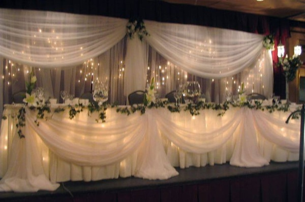 WEDDING/SHOWER/PARTY BACKDROP,ARBORS AND DECOR