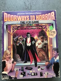 Doorway to horror vintage vhs game Los Angeles, 90001