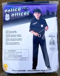 Children's Police Costume (M) 8/10 - BRAND NEW!! Manchester, 17345