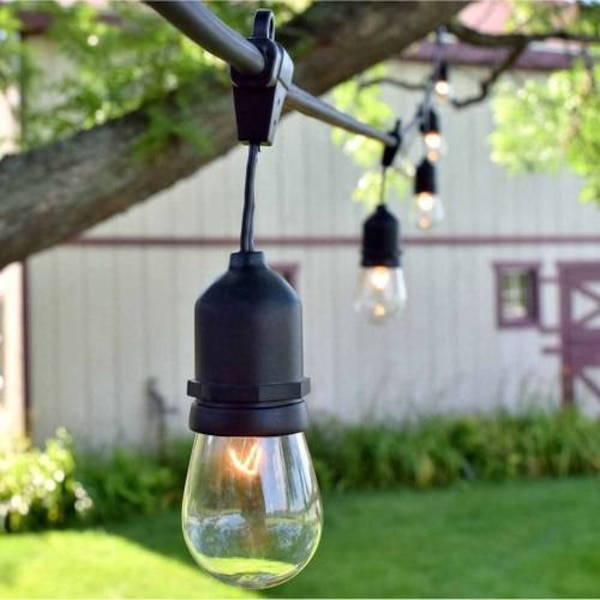 2 sets of hanging Brightech Ambience Pro Edison lights
