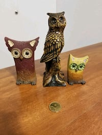 Three owls all three for $6 Victoria, V9A 6A6