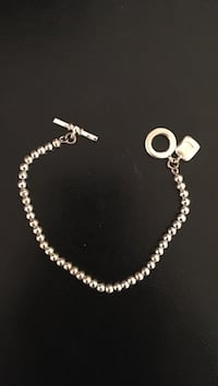 Silver-colored toggle bracelet McLean