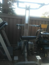 black exercise equipment