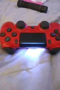 Play station 4 red controller