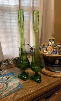 Vintage ( 70s era) glass vases