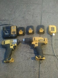 DeWalt cordless hand drill and impact wrench Chilliwack, V2P 2N7