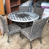 NEW NOT USED Outdoor Woodard  5 piece metal woven dining set Frederick, 21701