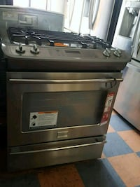 FRIGIDAIRE GALLERY SLIDE IN DUAL FUEL STOVE