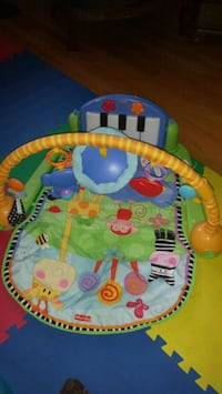 baby's multicolored activity gym 777 km