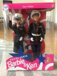 Stars and Stripes Marine Corps Barbie and Ken Alexandria, 22314