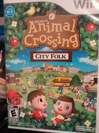 Wii Animal Crossing game  Urbana, 43078