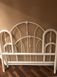 Rod Iron front and backboard for double bed Vaughan, L6A 2H8