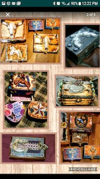 Custom made jewelry boxes Bakersfield, 93308