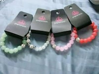 four assorted-color bracelets Merced, 95341