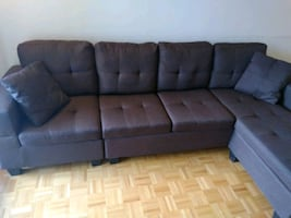 Sectional Sofa Brown Color (Brand New)