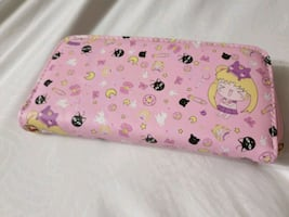 Sailor moon kawaii clutch wallet