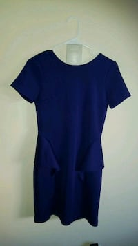 Blue dress. Size M